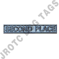Ribbon Bar Attachment Second Place (Silver)