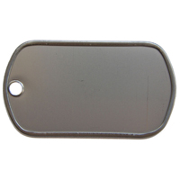 Box Of Blank Dog Tags Stainless Steel (Box Of 100)