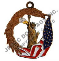 Veterans / Patriotic (Medal Only) Each