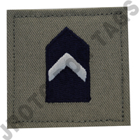 Major (MAJ) ABU Rank JROTC Hook Back (Each)