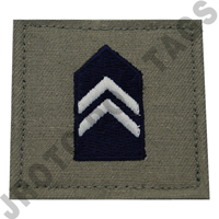 Cadet 3rd Class (C/3C) ABU Rank ROTC Hook Back (Each)