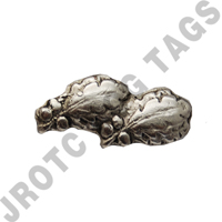 Silver Oak Leaf 2 (each)