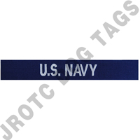 U.S. Navy Enlisted name tapes