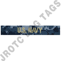 NWU Officer U.S. Navy Nametape