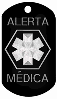 Alerta Medica ID Tags T102 - Buy one Get one FREE