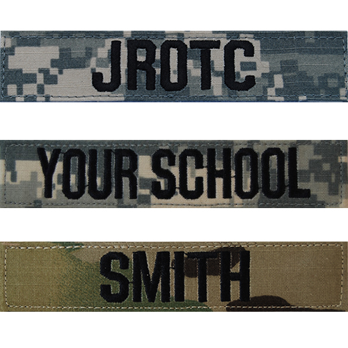 Army Name tapes