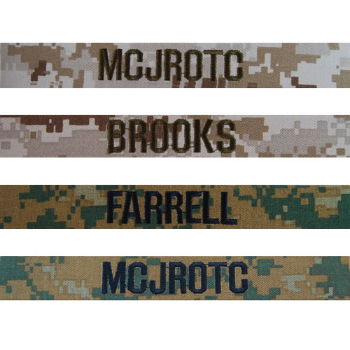 Marine Corps Nametapes