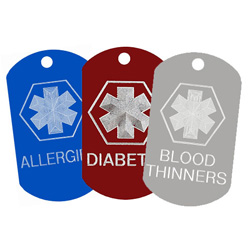 Medical Data Dogtags