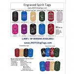 Fundraising/Engraved Tags