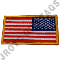 American Flag Reverse Full Color (Ea)