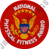 National Physical Fitness Patch (Each)
