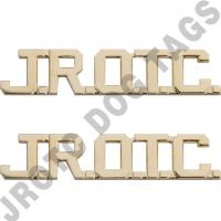 JROTC Letters Bright (Pair)