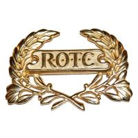 ROTC Wreath Gold Pin Back (For Berets) (Ea)