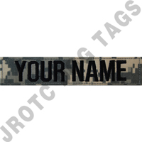 Individual Nametapes ACU/UCP (Each) (Takes Minimum 2-3 Weeks)
