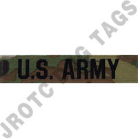 OCP U.S. Army Name Tape (Each)