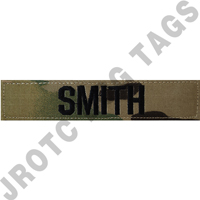 Army OCP Individual Name Tape (Takes Minimum 2-3 Weeks)