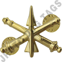 Air Defense Army Officer Collar Device (Pair)