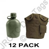 Canteen 1 QT & OD Cover (12 sets)