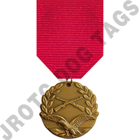 Air Rifle Stock Medal