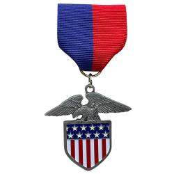 Patriotism Stock Medal