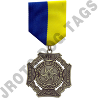Service Learning Stock Medal
