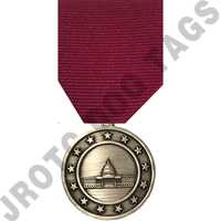 Student Government Stock Medal