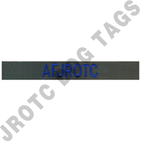 Custom BDU sew on Nametapes