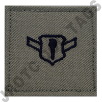 Airman (AMN) ABU Rank JROTC Hook Back (Each)