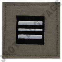 Major (MAJ) ABU Rank ROTC Hook Back (Each)