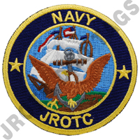 Navy JROTC Color Patch Sew On