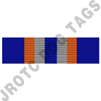 Exemplary Personal Appearance NJROTC Ribbon Award (each)