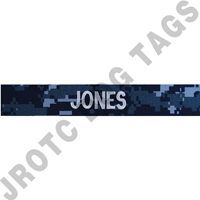 NWU Enlisted Navy Custom Nametape Sew On (Takes 2-3 Weeks to Ship)