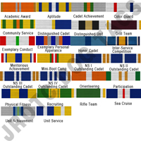 NJROTC Ribbons