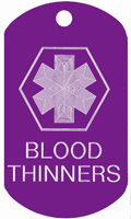 Blood Thinners Medical T123- Buy one Get one FREE